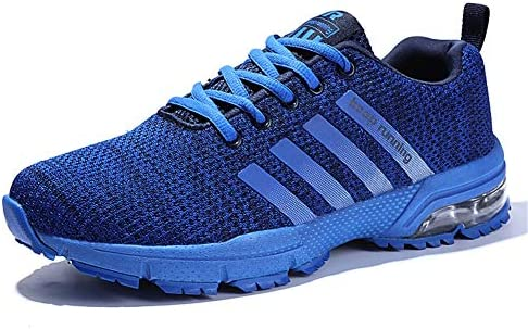 LZLHYH Zapatillas De Correr para Hombre Zapatillas De Deporte Que Absorben El Impacto Caminar Calzado Deportivo Zapatillas Deportivas Zapatillas con Cordones Calzado Cómodo Tamaño Grande,Azul,35: Amazon.es: Deportes y aire libre