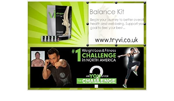 9e66d43649 Amazon.com: Body By Vi Visalus Balance Kit Weight Loss Meal Replacement 1  Shake Per Day: Health & Personal Care