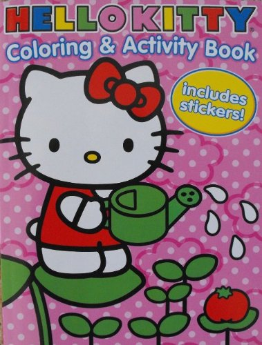 Hello Kitty Coloring Activity Stickers Product Image