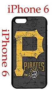 Pittsburgh Pirates iPhone 6 4.7 Case Hard Silicone Case