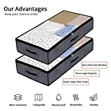 Onlyeasy Foldable Underbed Bags - 2 Pack Blankets