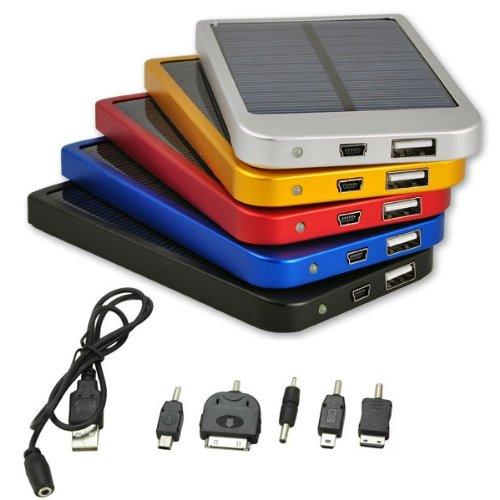 6427d7cb7d CARICA BATTERIE UNIVERSALE ENERGIA SOLARE USB PER: IPHONE 5, SAMSUNG GALAXY  S4, tutti i telefoni cellulari ...