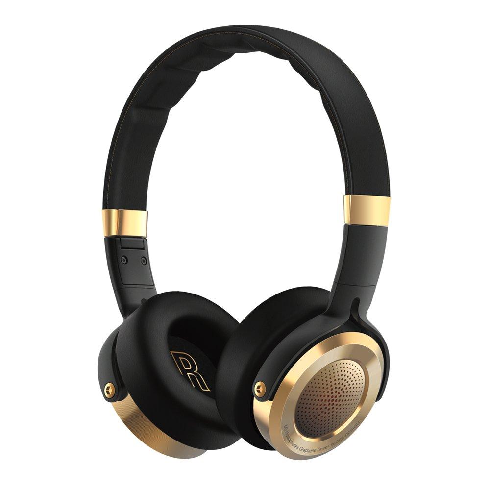 Miヘッドフォンブラック折りたたみ式over ear HiFiステレオヘッドセットマイク内蔵(USバージョンwith保証)B075NFPBRS
