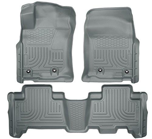 Husky Liners Front & 2nd Seat Floor Liners Fits 14-18 GX460, 13-18 (4runner 2nd Seat Floor)