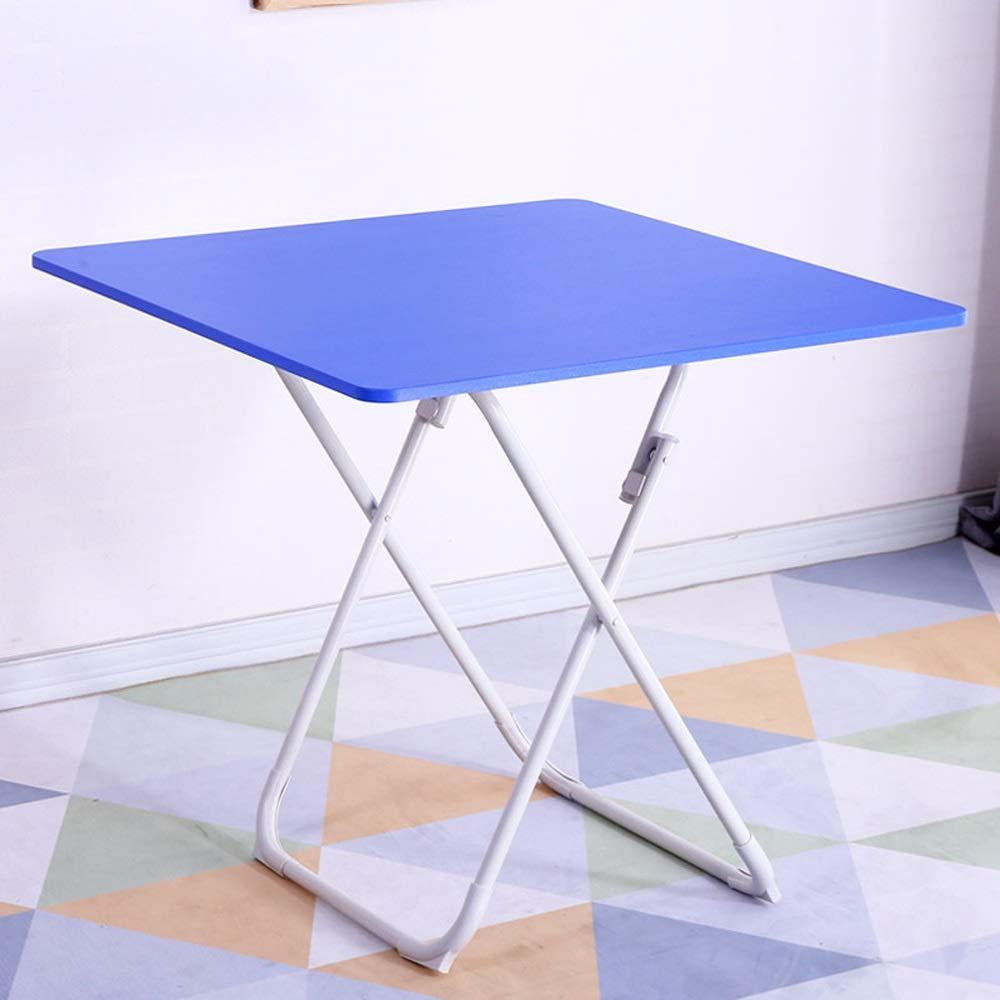 YH 家庭用小型アパートシンプルな正方形のテーブル折りたたみ式テーブルダイニングテーブルは、火災フレーム正方形を焼くことができます A+ (色 : C, サイズ さいず : 2) 2 C B07NPLWFLH