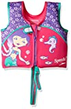 Speedo Kids' UPF 50+ Begin to Swim Printed Neoprene Swim Vest, Aqua, Medium