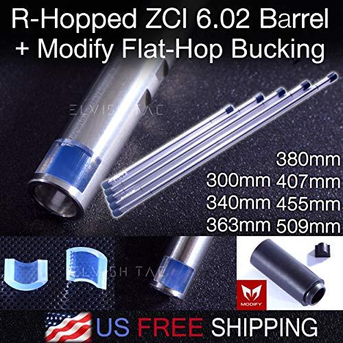 Elvish Tac R-Hopped ZCI 6.02mm Tightbore Barrel + Modify Flat-Hop Bucking AEG R-Hop RHop (509)