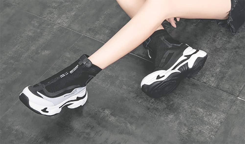 TFEL Baskets à Plateforme Automne et Hiver,Chaussures de Sport,Chaussures Chaudes pour Dames B