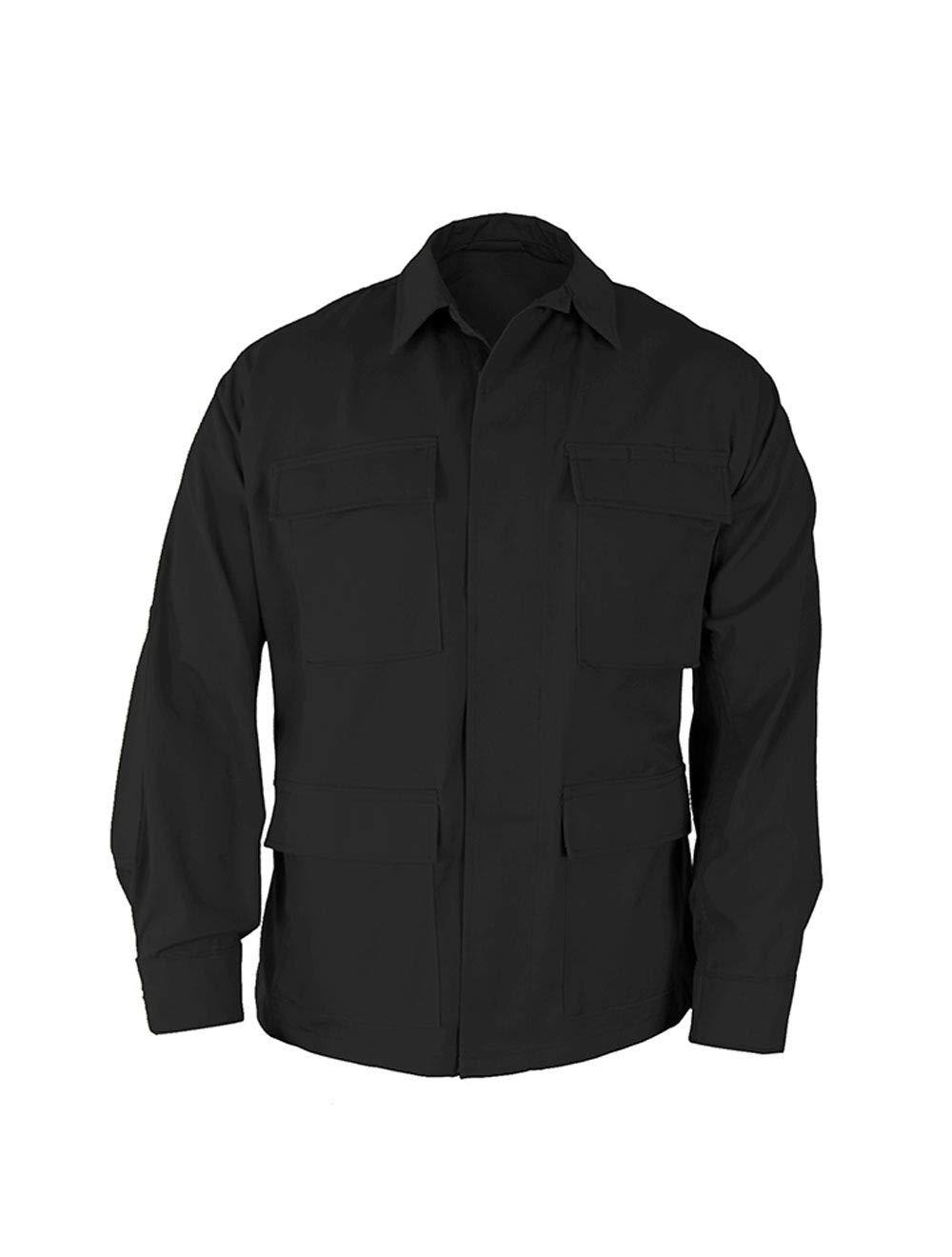 Propper Uniform BDU Coat, Black, X-Large Long by Propper