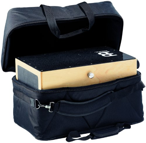 Meinl Percussion MCJB Professional Cajon Bag with Internal Padding, Side Pocket, and Adjustable Shoulder Straps (VIDEO)
