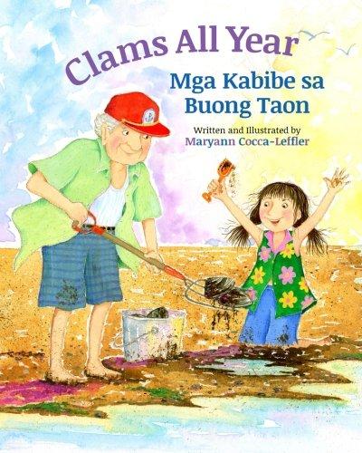 Clams All Year: Mga Kabibe sa Buong Taon : Babl Children's Books in Tagalog and English