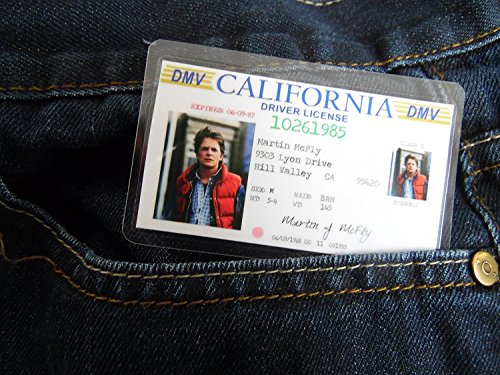 Hatcherabilia Marty McFly Novelty ID Back to The Future Replica Prop]()
