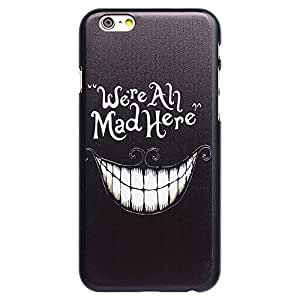 Casea Packing Mad White Teeth Snap-on Hard Cover Case for Apple iPhone 6 6G
