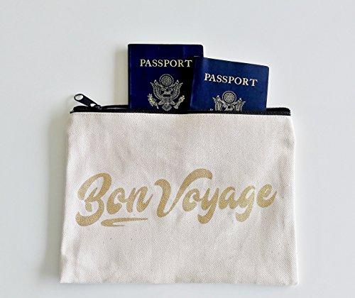 Honeymoon Gift Travel Accessory Passport Holder Passport Case Honeymoon Gifts Bon Voyage Pouch Passport Wallet Travel Accessories Traveler Gifts Travel Gift Wanderlust by Define Design 11