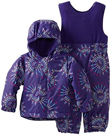 e3687ca5a Amazon.com  12-18 Month Girl Columbia Snow Suit Purple Barely Worn  Baby