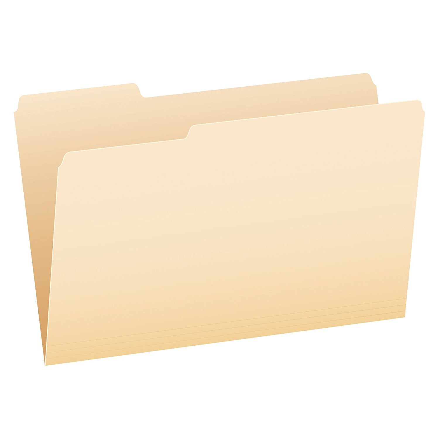 Pendaflex File Folders, Legal Size, Manila, 1/3 Cut, 100/BX (753 1/3) 2-Pack