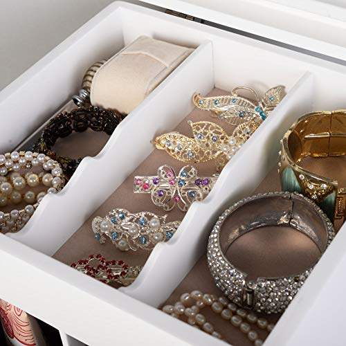 Magic Make Up Case with Large Mirror for Jewelry Armoires