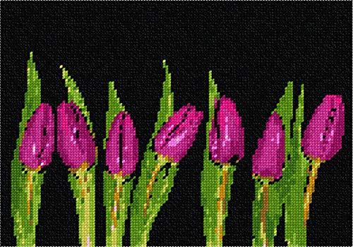 (pepita Row of Tulips Needlepoint Kit)