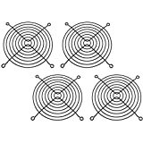 XSPC 120mm Wire Fan Grill, Black, 4-pack