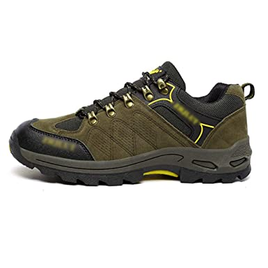 Tallas Grandes Para Hombre Al Aire Libre Zapatos De Senderismo Sneaker Escalada Trail Walking Shoes Caza Sneaker Trekking Zapatos,Green-EU41/UK7: Amazon.es: ...