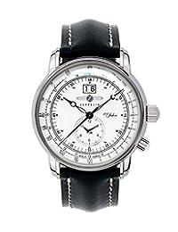 Graf Zeppelin Dual Time Big Date 100 Years of Zeppelin Watch 7640-4