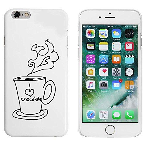 Blanc 'Chocolat Chaud' étui / housse pour iPhone 6 & 6s (MC00047922)