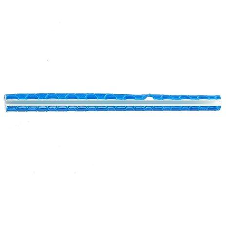 Azul TOOGOO(R) 12pzs Luz de Advertencia del Montaje Reflectante Reflector de Radio de Rueda de Bicicleta Montar en Bicicleta