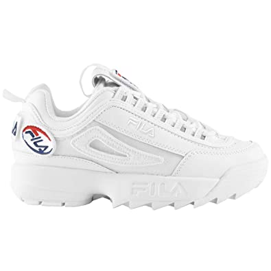Fila Donna Disruptor II Patches Leather Synthetic Formatori