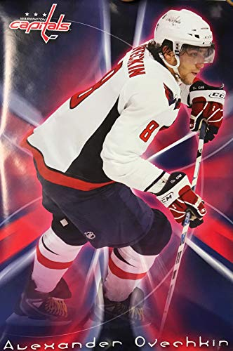Washington Capitals 2007 Alexander Ovechkin Hockey Poster - Officially Licensed (Large 22