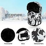 VBIGER Trooper Trapper Hat Winter Windproof Ski Hat