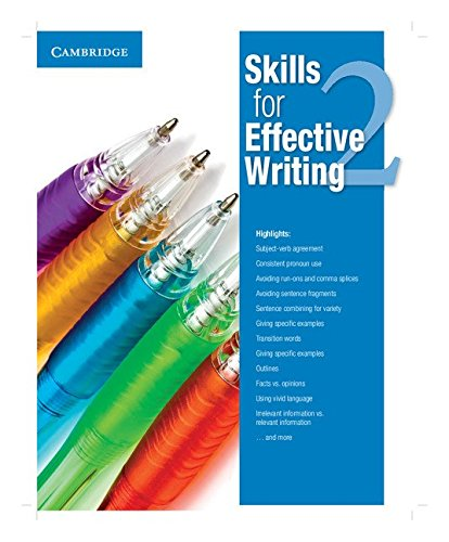 (Skills for Effective Writing Level 2 Student's Book)