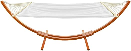 ONCLOUD 15 ft Wooden Arc - The Best Arched Hammock Stand