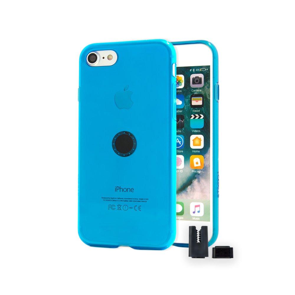 Funda de iPhone 8 / 7 - de silicona azul...