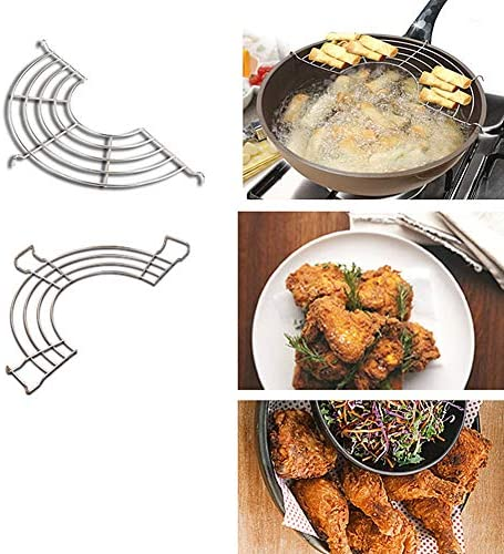 xiamenchangketongmaoyi Grillrost Rund Grillrost Grill Grill Rack BBQ Grill Mesh-Matte Nicht Stick BBQ Grill Matte Fisch Grill Für BBQ BBQ Grills Grill Grill Matte S