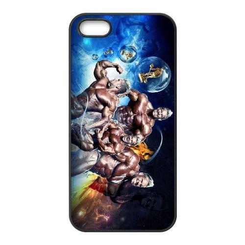 Jay Cutler Muscle Bodybuilding Body coque iPhone 5 5S cellulaire cas coque de téléphone cas téléphone cellulaire noir couvercle EOKXLLNCD24725