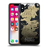 Official HBO Game of Thrones Westeros Map Key Art Hard Back Case for iPhone X/iPhone Xs