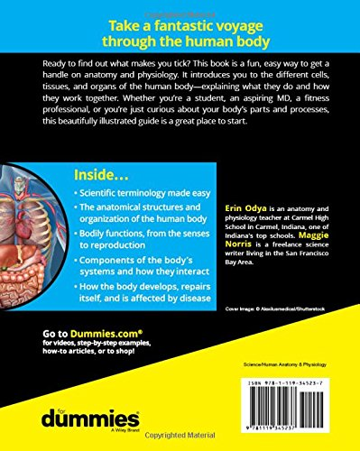 Anatomy and Physiology For Dummies (For Dummies (Math & Science))
