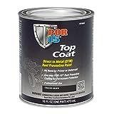 POR-15 45908 Top Coat Chassis Black Paint 16. Fluid_Ounces