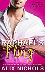 Raphael's Fling: A Secret Baby Romance (The Darcy Brothers)