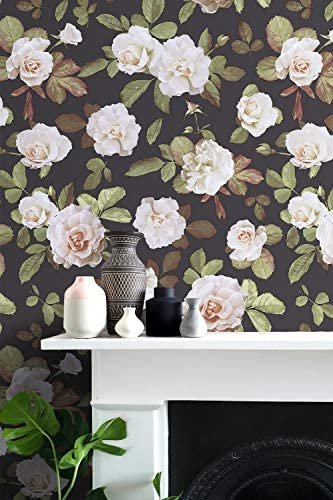 show original title Details about  /3D Vintage Floral H1210 Wallpaper Wall art Self Adhesive Removable Sticker Wend
