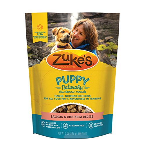 Zuke'S Puppy Naturals Salmon & Sweet Potato Recipe Puppy Treats - 5 Oz. Pouch (Best Holiday Treat Recipes)