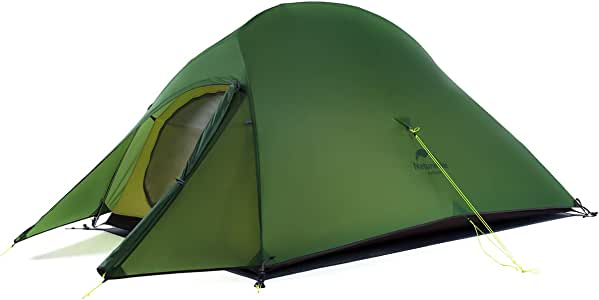 Naturehike Upgraded Cloud-Up 2 Person Backpacking Camping Tent Lightweight Outdoor Tents for 2 Person Camping