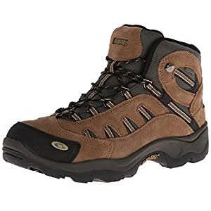 Hi-Tec Men's Bandera Mid Waterproof Hiking Boot, Bone/Brown/Mustard, 7 M US