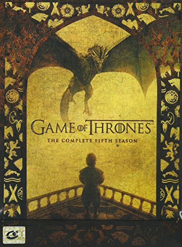 Game of Thrones : The Complete 5th Season (Region 3, David Nutter, DVD 5 Discs)
