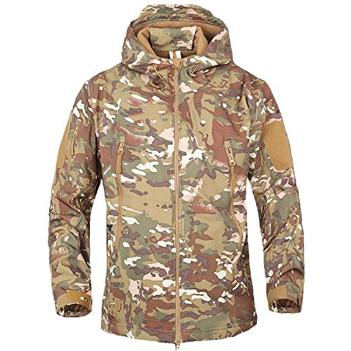 Softshell Hombres CP chaquetas impermeable combate capucha chaqueta con PqwtHg
