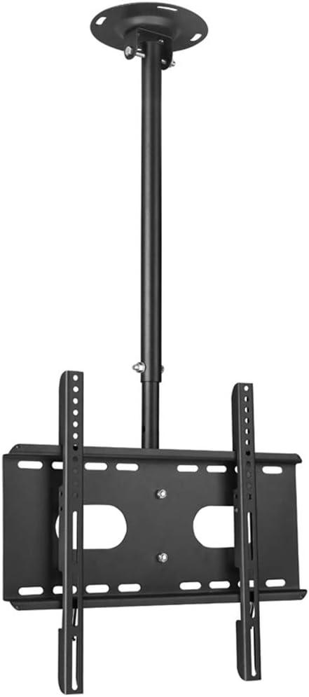 Soporte para Montaje en TV de Techo, 37-50 Pulgadas Rotación Ajustable de 360 ° Soporte de TV para Montaje en Techo/Montaje en Pared para televisores de Pantalla Plana LED LCD para Sala