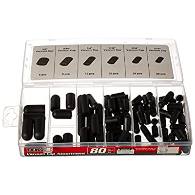 Titan 80 Piece Vacuum Cap Assortment: Automotive