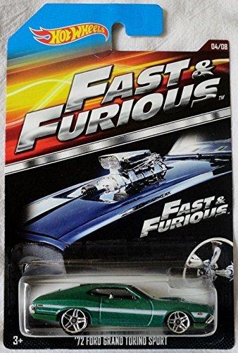 2015 Hot Wheels FAST /& FURIOUS Walmart Exclusive 72 FORD GRAND TORINO SPORT