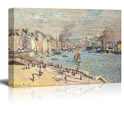 Port of Le Havre by Claude Monet Impressionist Art