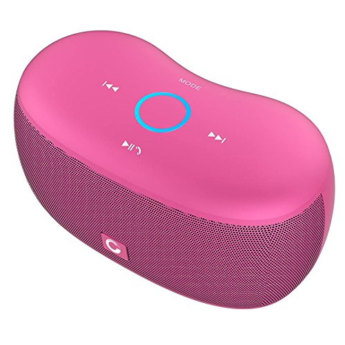 DOSS SoundBox xs Bluetooth Speaker, Portable Wireless Bluetooth 4.0 Touch Speakers with 10W HD Sound, Microphone for Echo Dot, iPhone, iPad, Samsung,